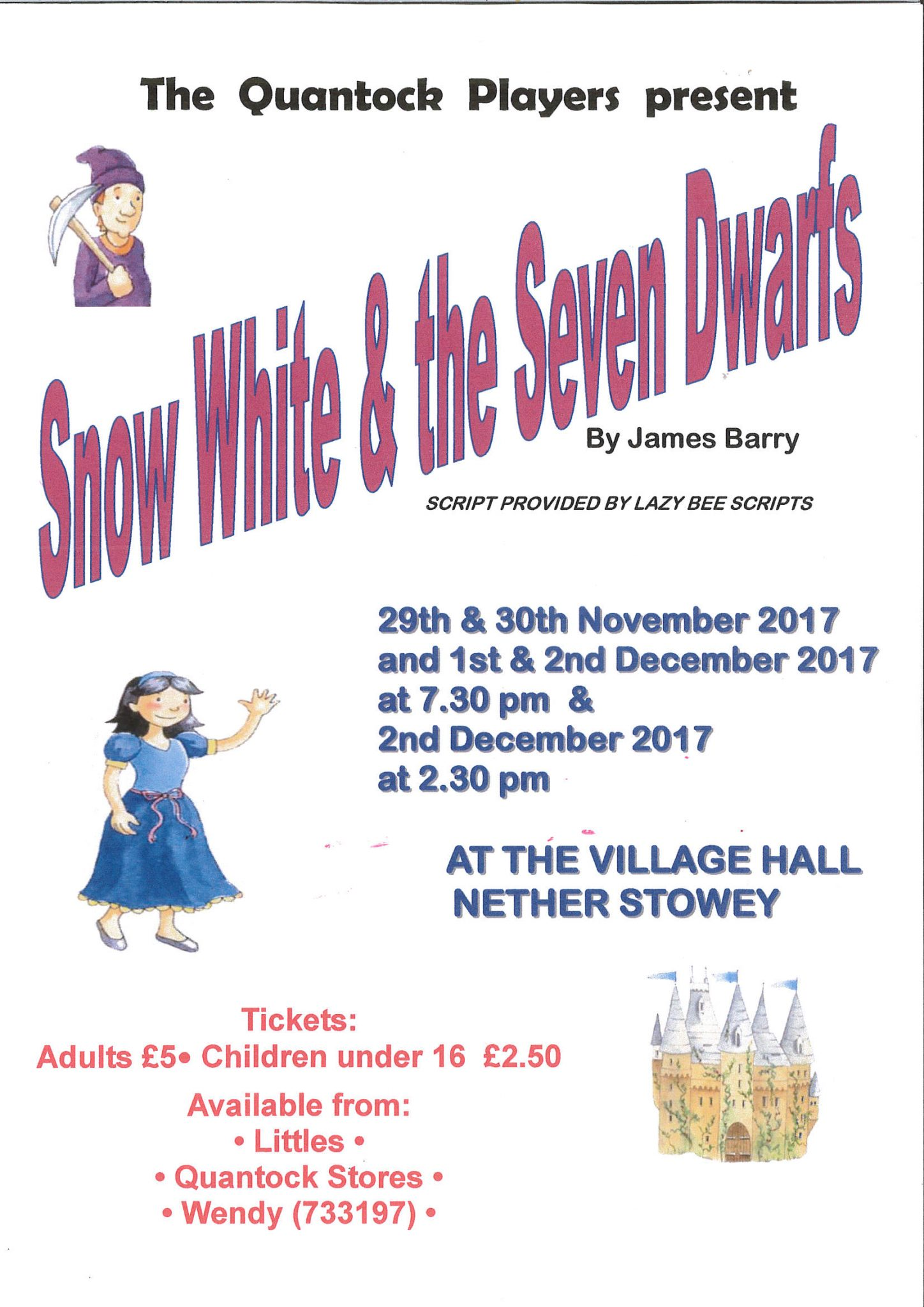Snow White and the Seven Dwarfs - pantomime