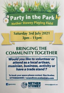 Party in the Park @ Nether Stowey Recreation Ground