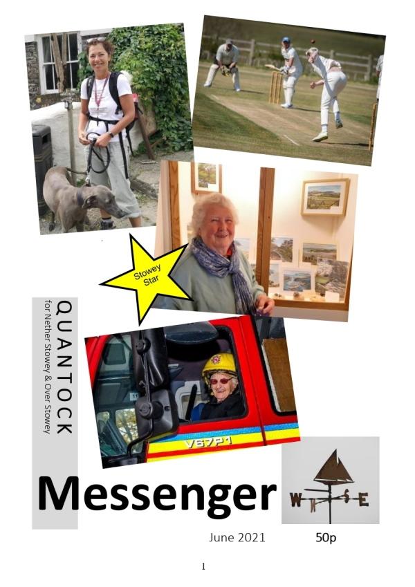 Quantock Messenger June 2021 front cover